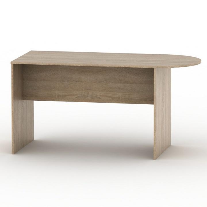 Andrea ívelt asztal A , Sonoma tölgy