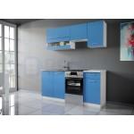 Color 1 konyhabútor 170 cm, Kék