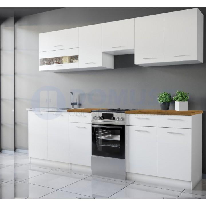 Fehér konyhabútor 250 cm