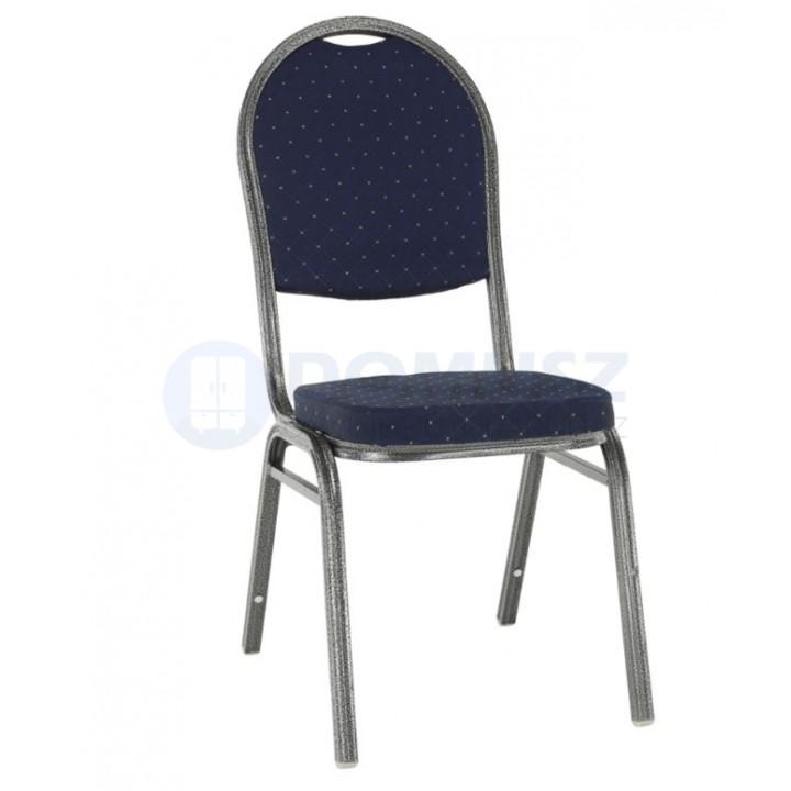 Jeff new szék, rakásolható A , Kék    Utolsó 5 db raktáron!!