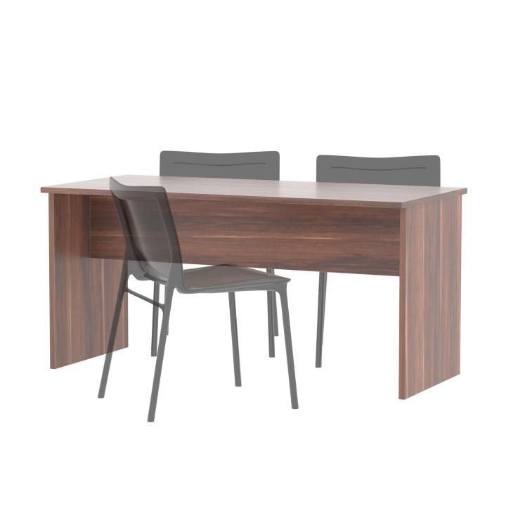 Emese kétoldalas íróasztal A , Szilva