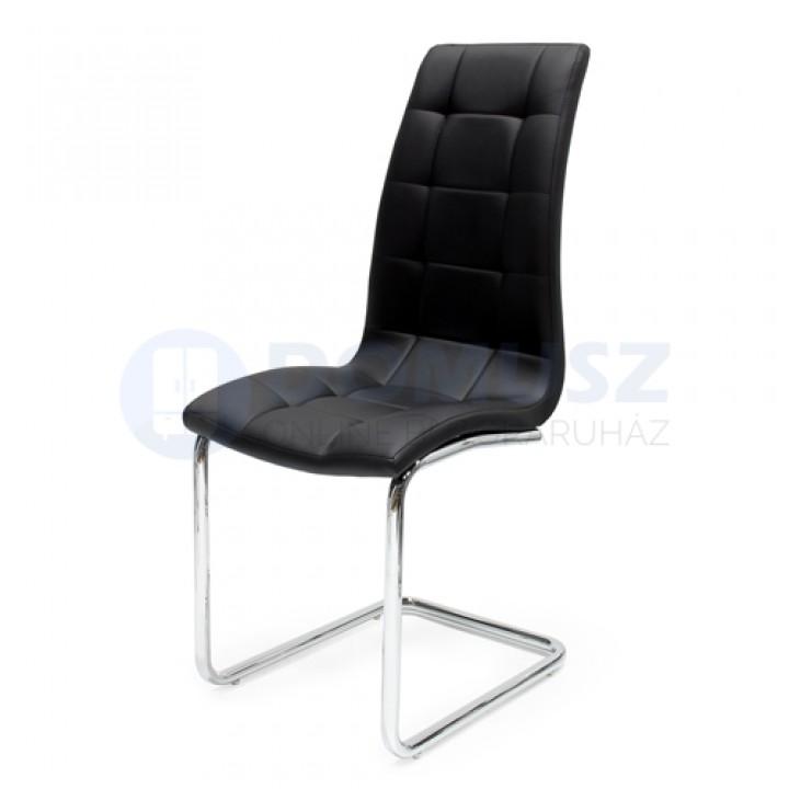 Emma szék C , Fekete